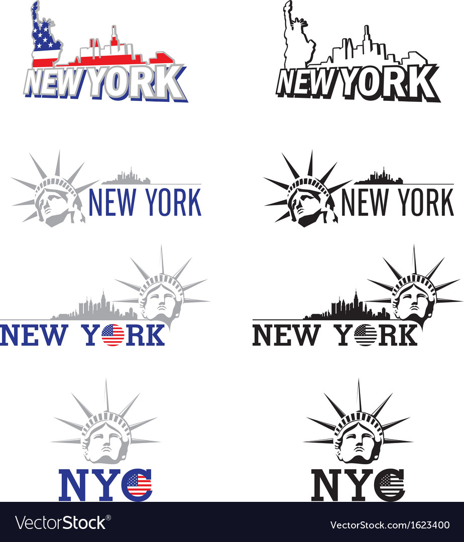 New york symbol vector | Price: 1 Credit (USD $1)