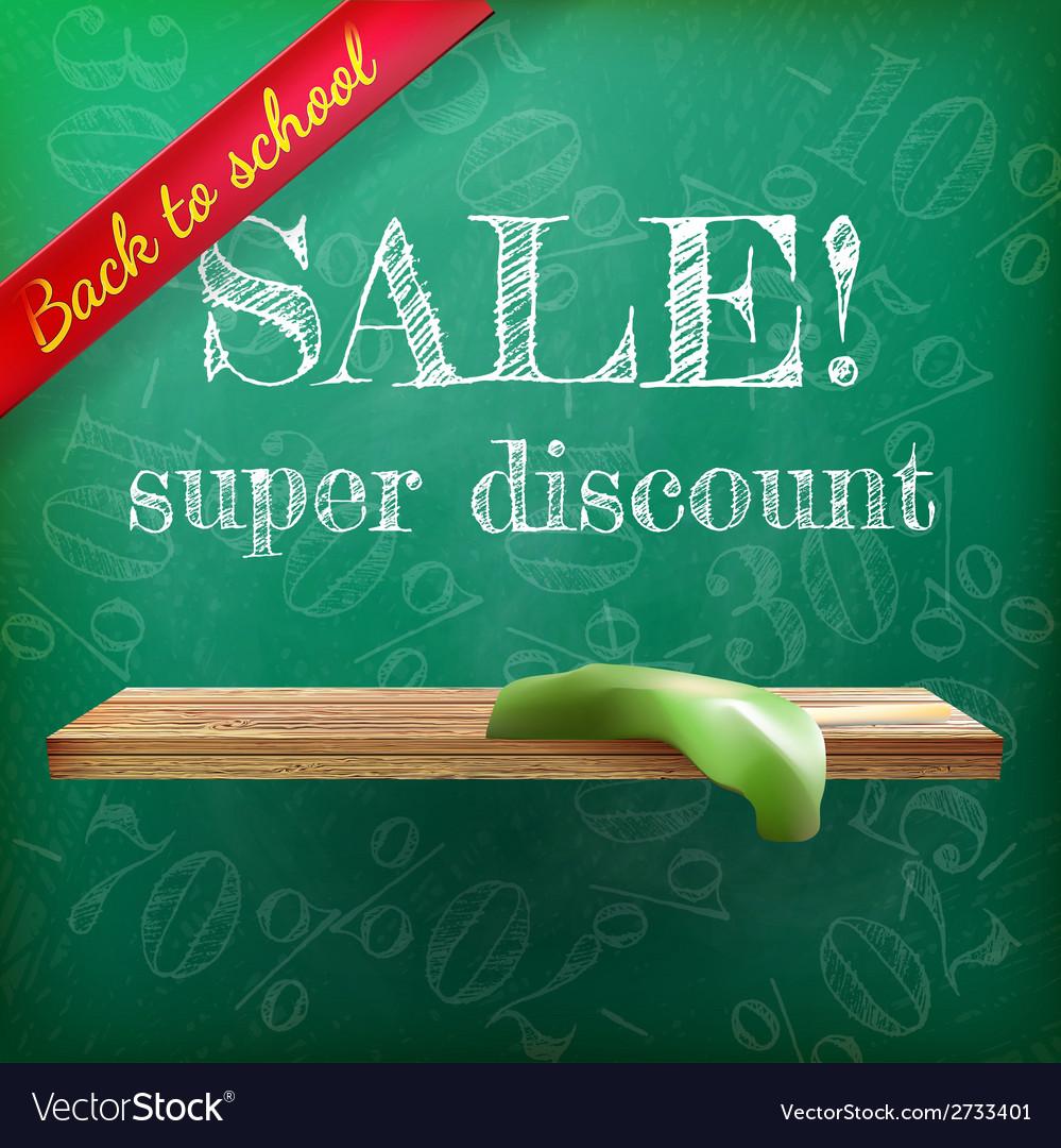 Back to school sale plus eps10 vector   Price: 1 Credit (USD $1)