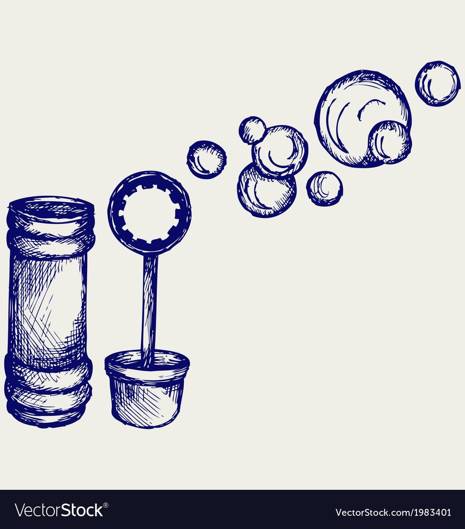 Soap bubbles vector | Price: 1 Credit (USD $1)
