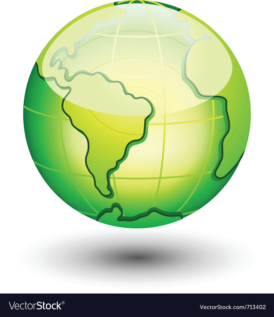 Earth icon vector | Price: 3 Credit (USD $3)