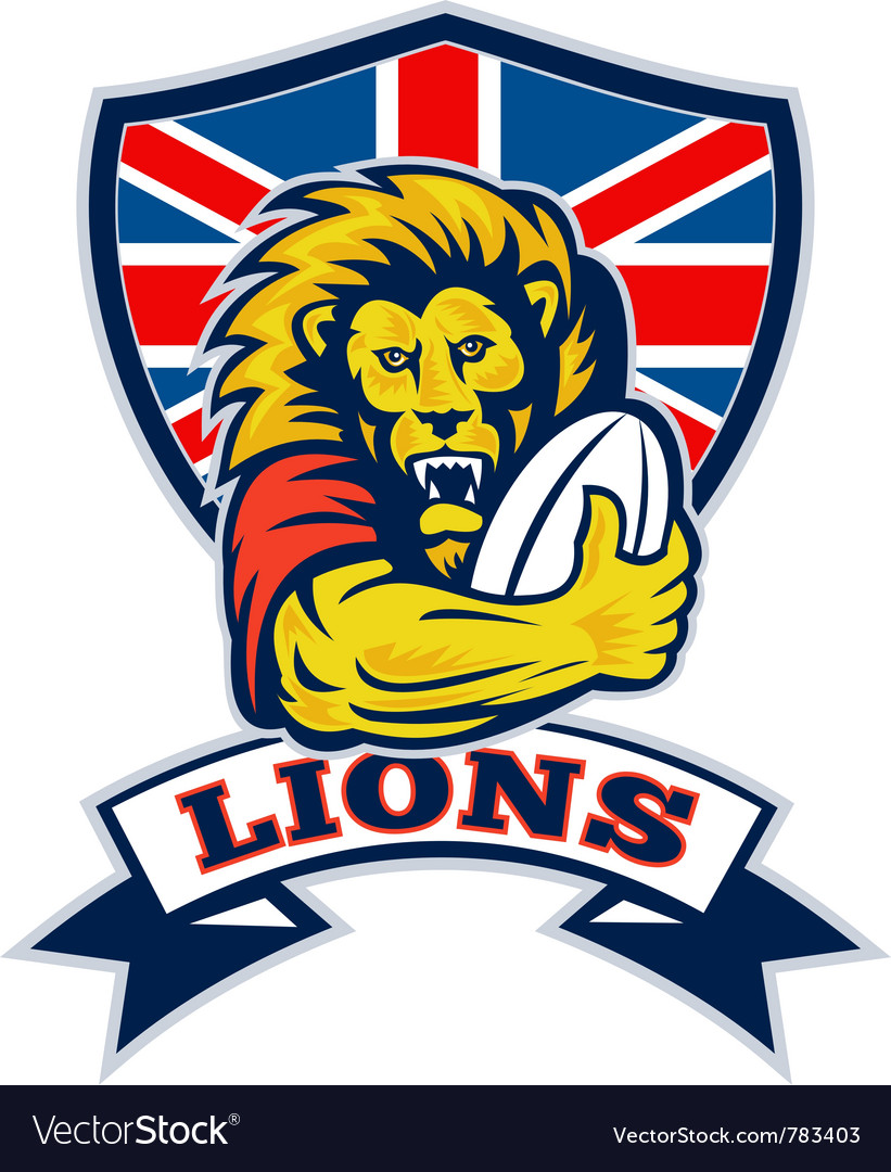 British lions rugby vector | Price: 1 Credit (USD $1)