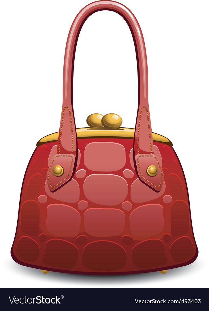 Hand bag vector | Price: 1 Credit (USD $1)