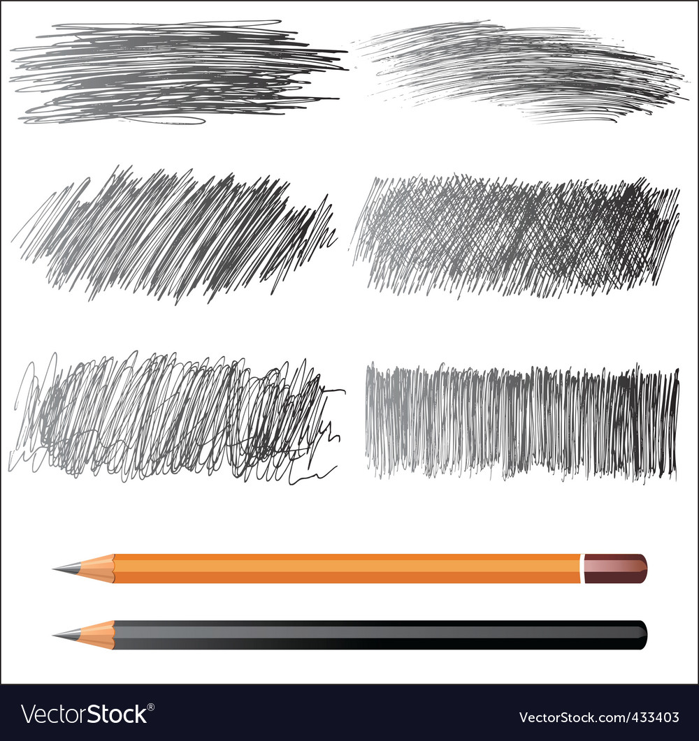 Pencil drawings vector | Price: 1 Credit (USD $1)