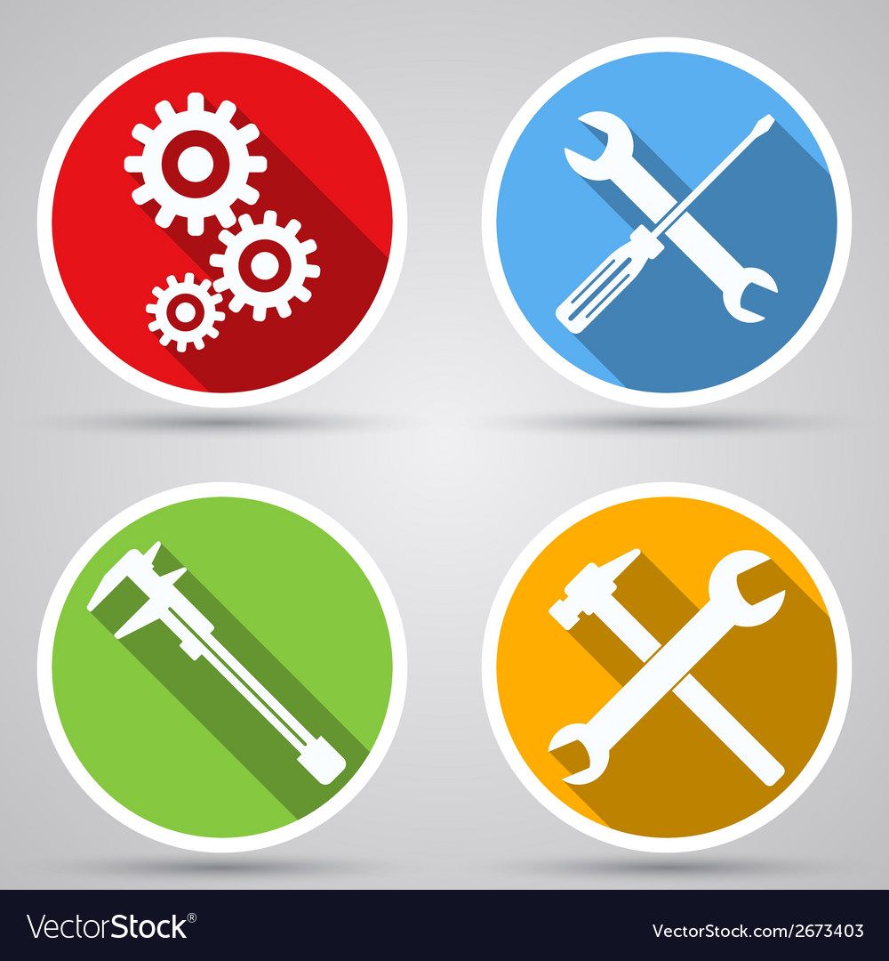 Tools icon collection vector | Price: 1 Credit (USD $1)