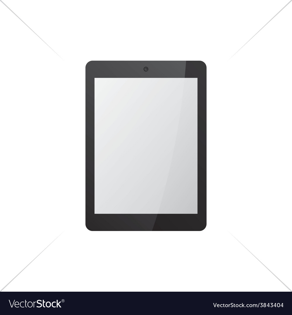 Black tablet mock up vector | Price: 1 Credit (USD $1)