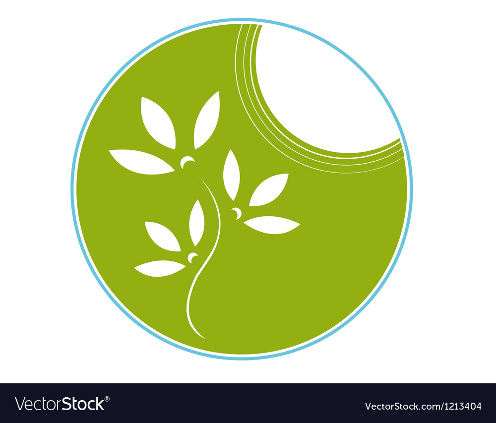 Eco symbol vector | Price: 1 Credit (USD $1)