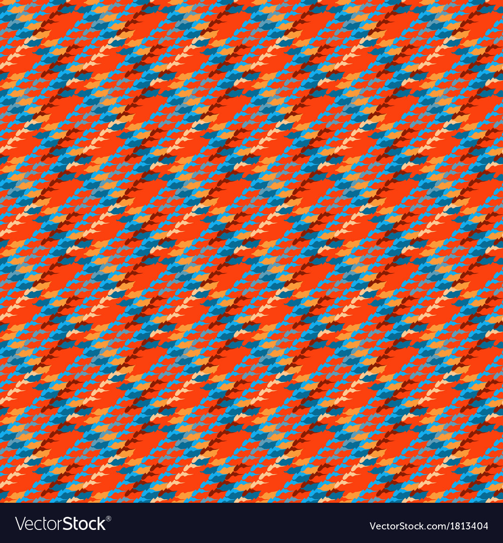 Multicolor modern version of houndstooth vector | Price: 1 Credit (USD $1)