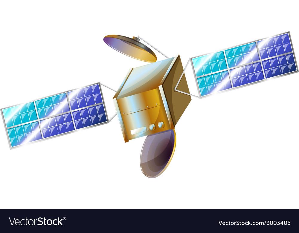 A satellite vector | Price: 1 Credit (USD $1)