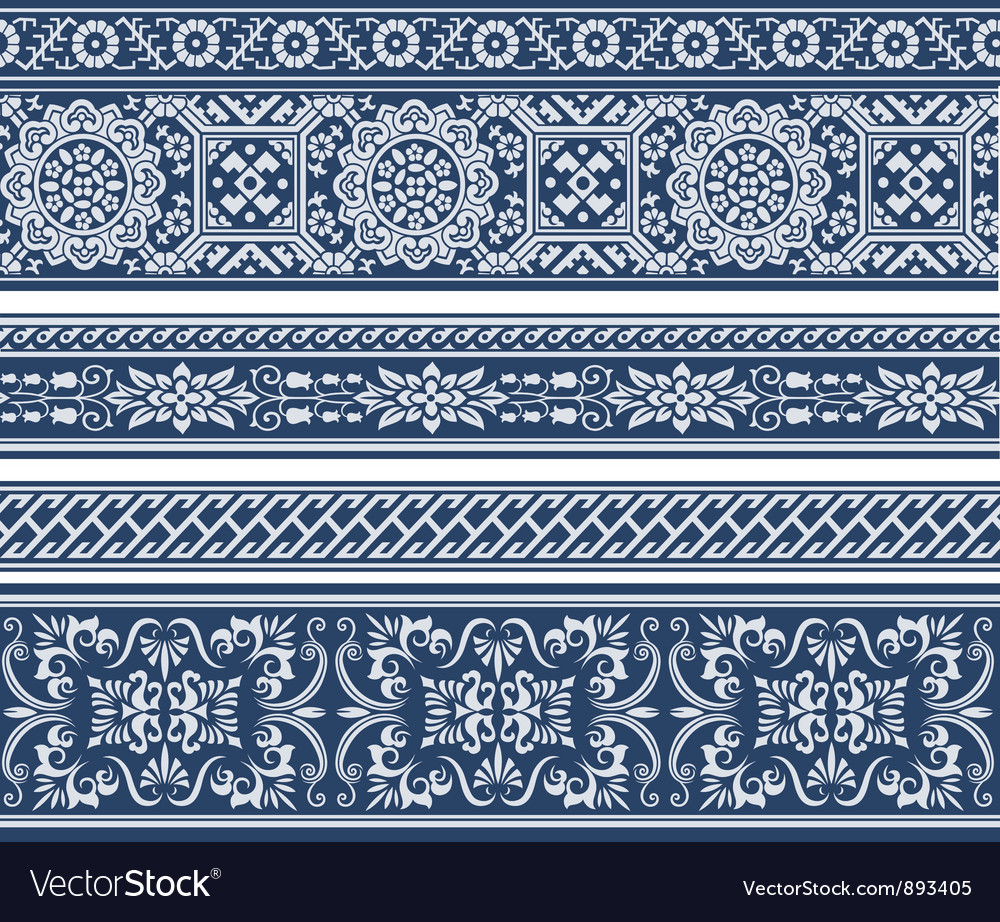 Fashion floral pattern vector | Price: 1 Credit (USD $1)