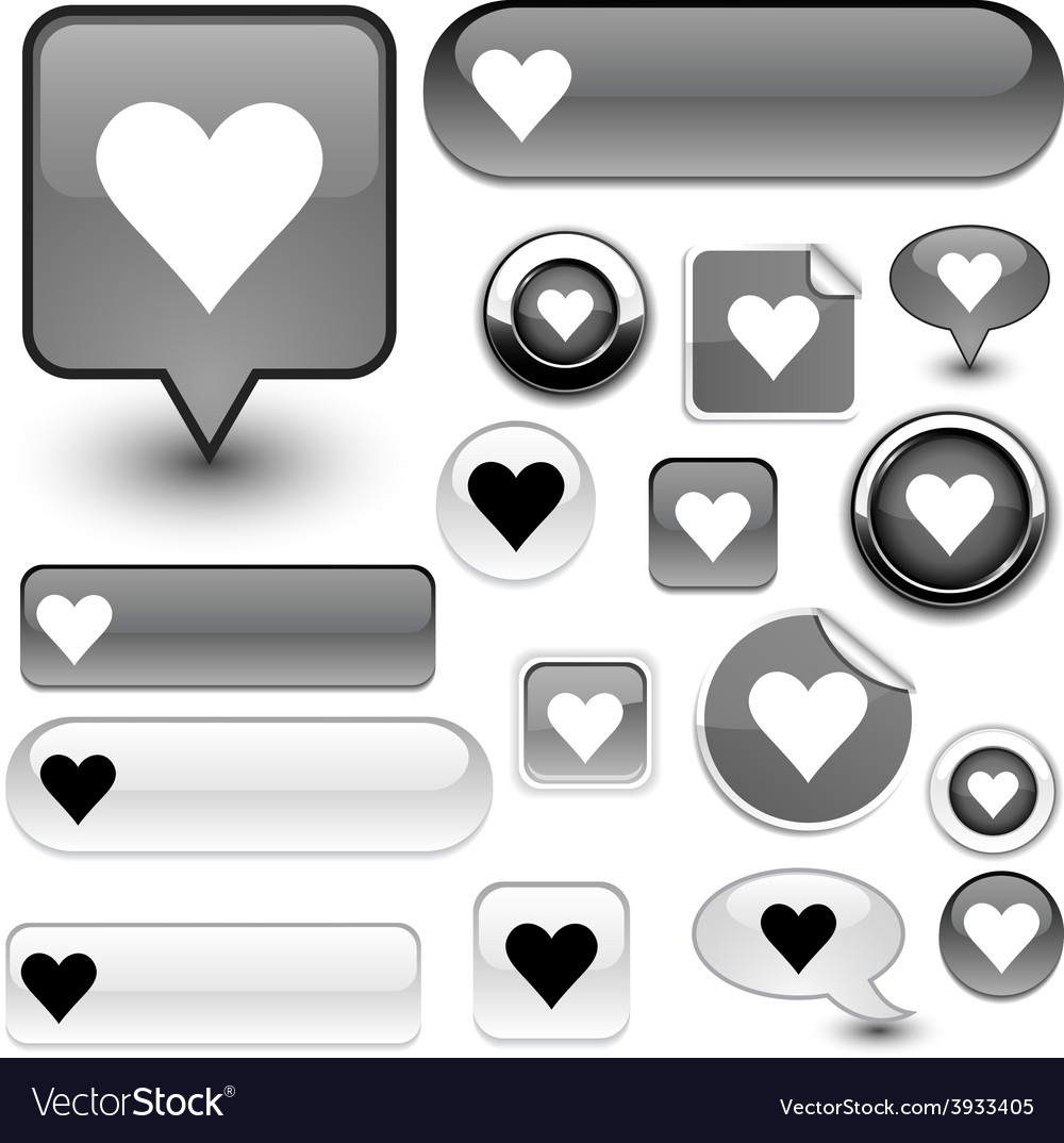 Love signs vector | Price: 1 Credit (USD $1)