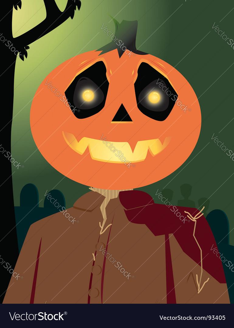 Pumpkin character vector | Price: 1 Credit (USD $1)