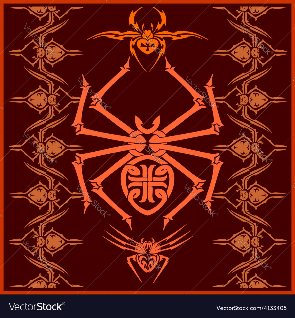 Spiders - set designs and elements for vector | Price: 3 Credit (USD $3)