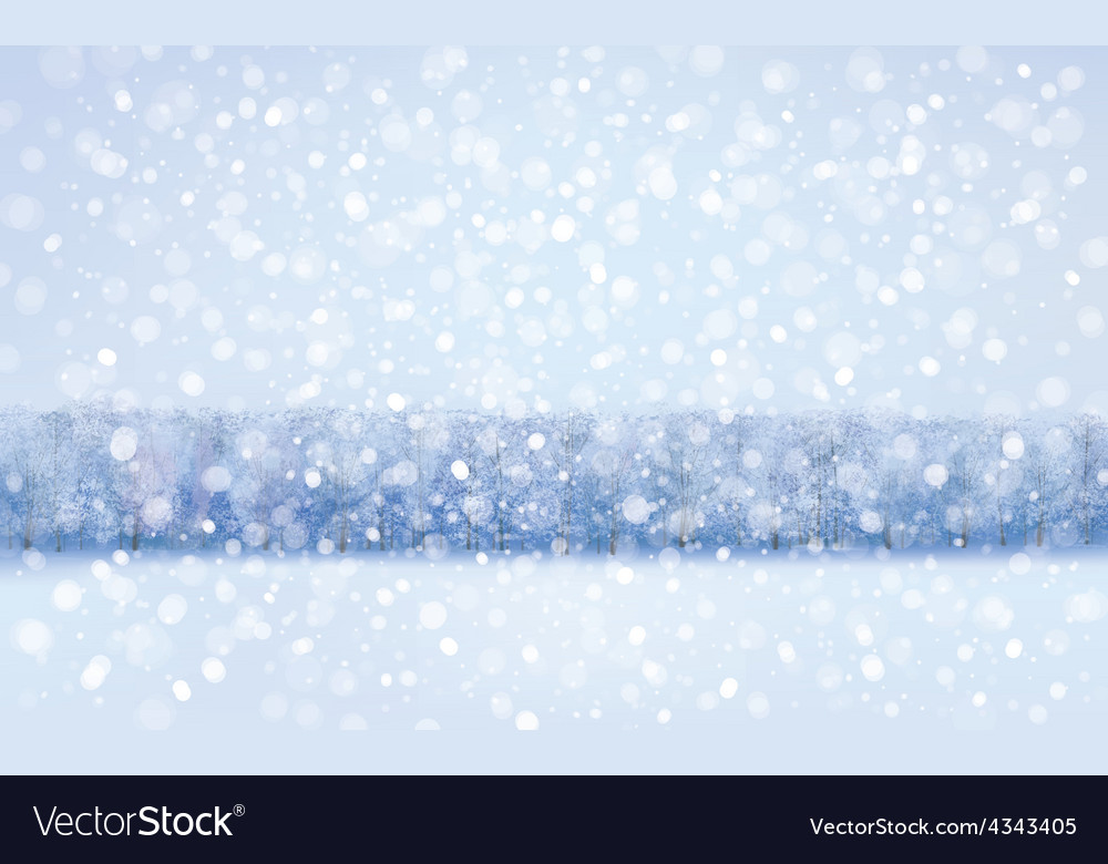 Winter vector