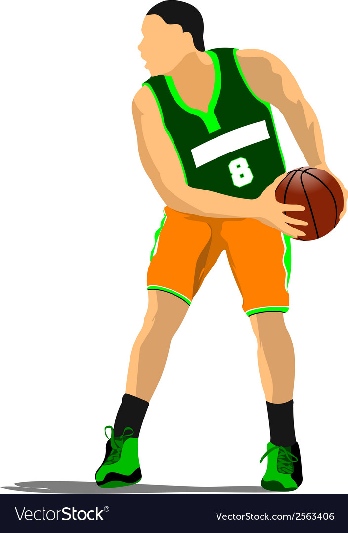 Al 1110 basketball 03 vector | Price: 1 Credit (USD $1)