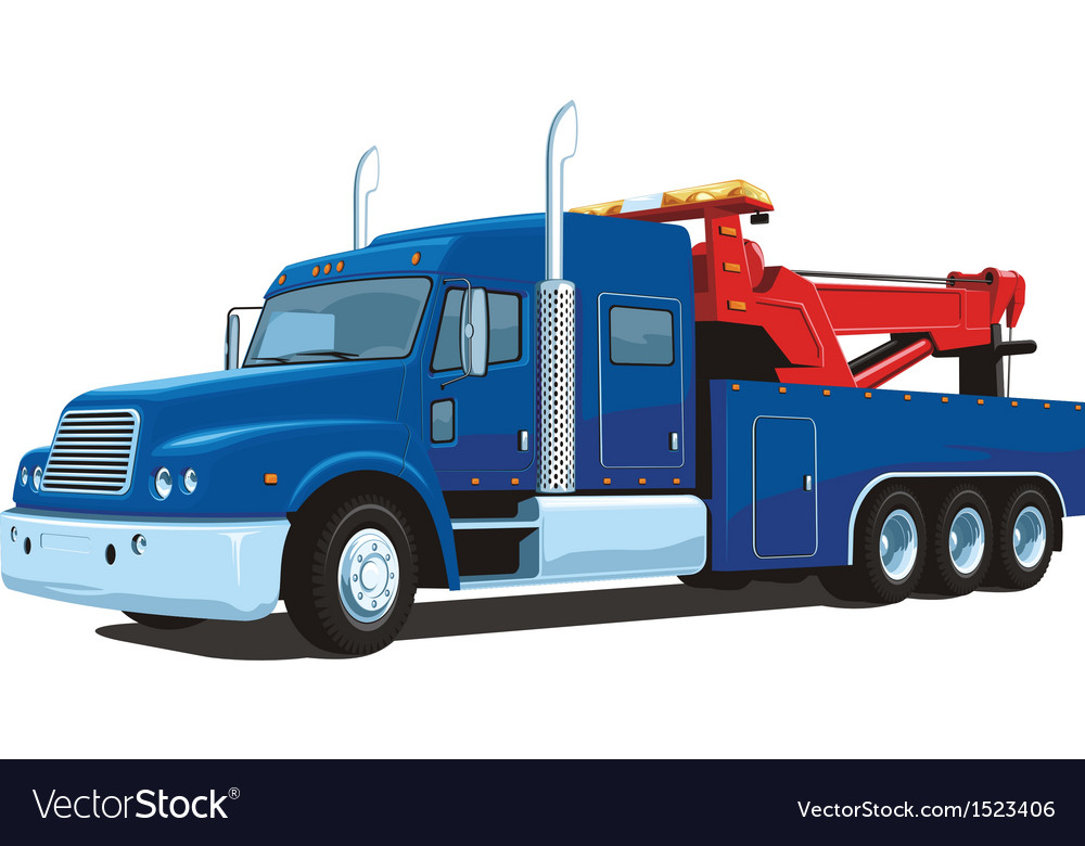Wrecker vector | Price: 3 Credit (USD $3)