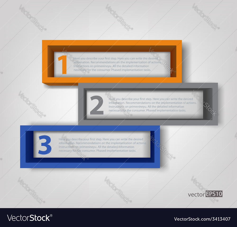 3d frames vector | Price: 1 Credit (USD $1)