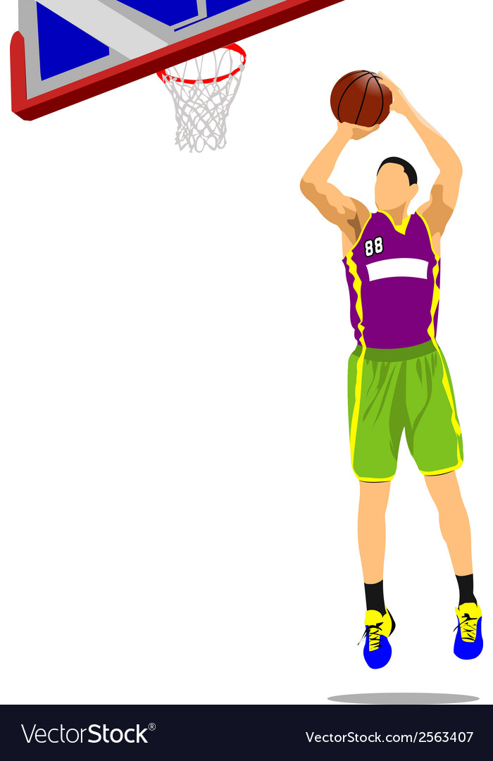 Al 1110 basketball 04 vector | Price: 1 Credit (USD $1)