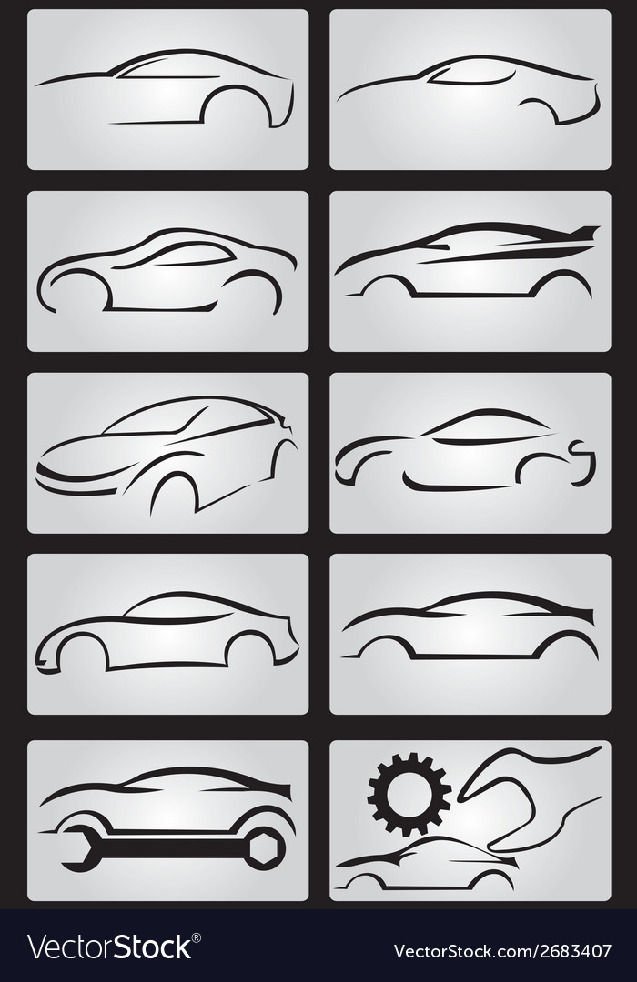 Cars collection vector | Price: 1 Credit (USD $1)