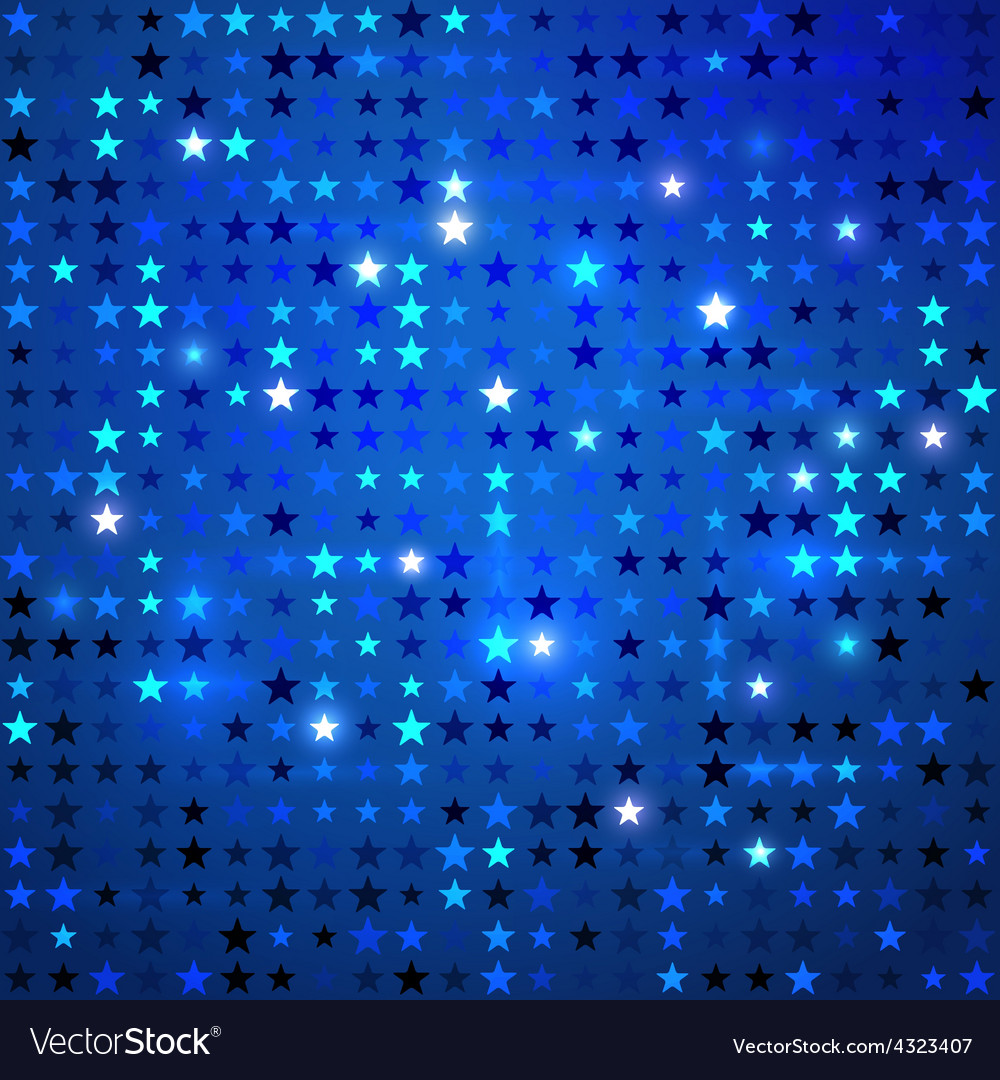 Disco background with stars vector | Price: 1 Credit (USD $1)
