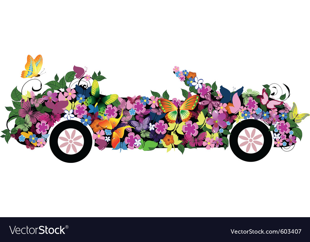Floral convertible vector | Price: 1 Credit (USD $1)