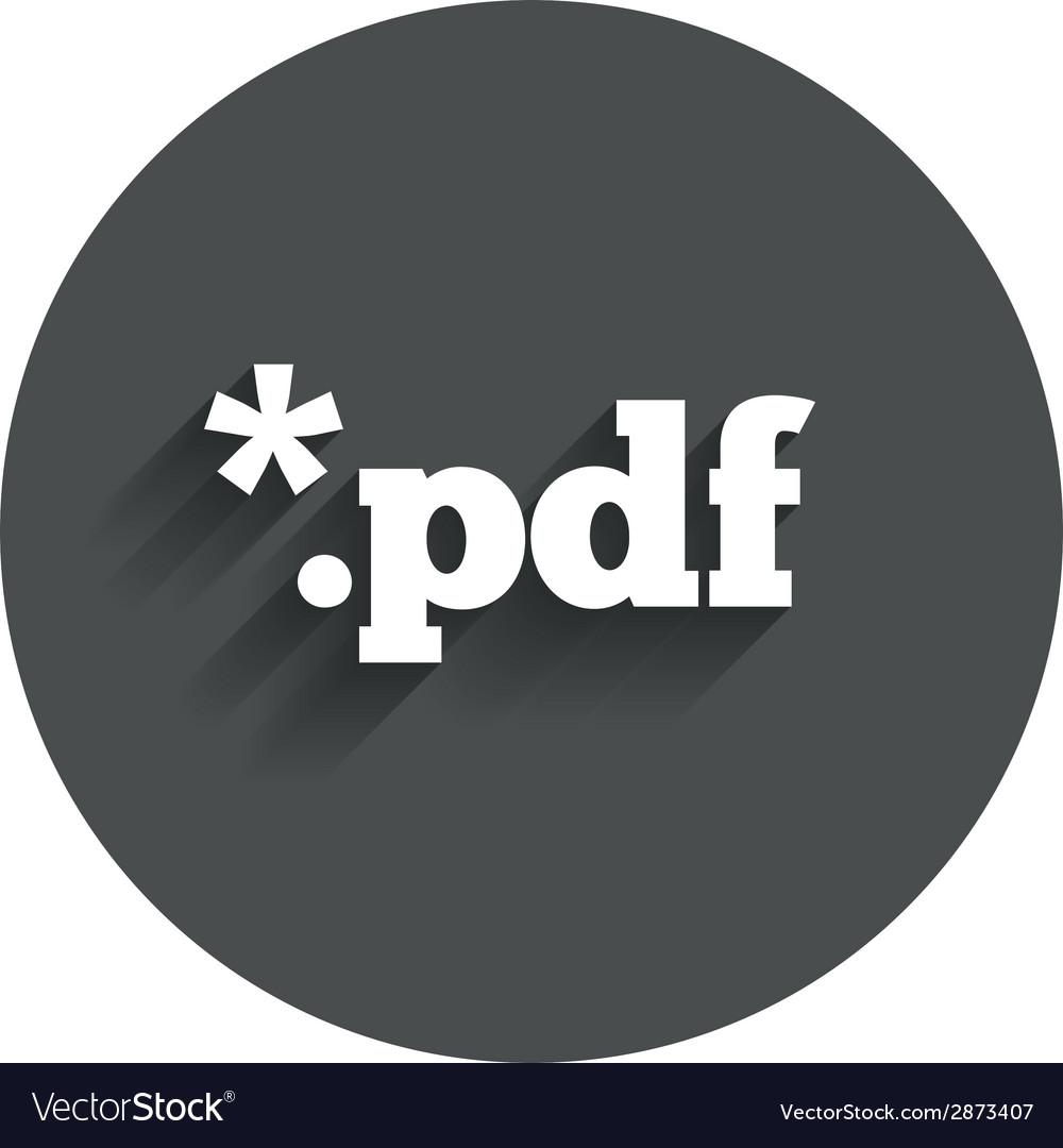 Pdf file document icon download pdf button vector   Price: 1 Credit (USD $1)