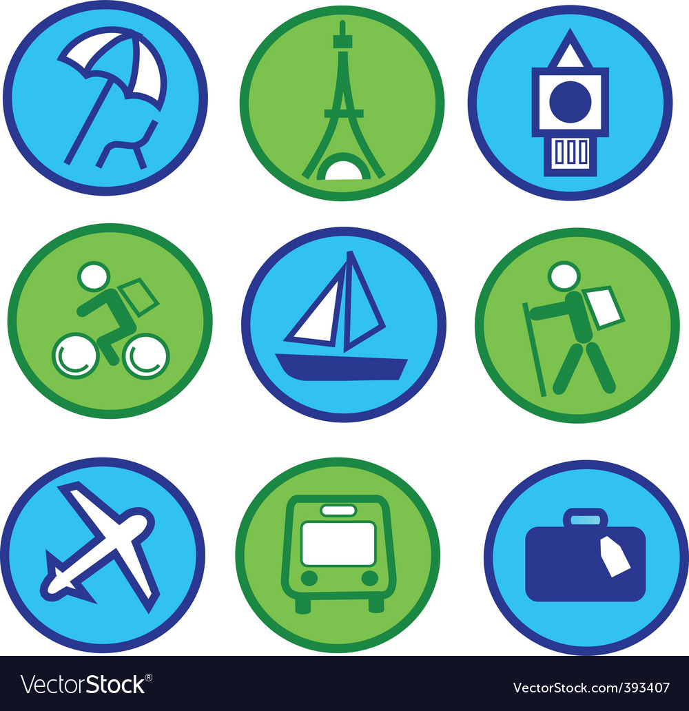 Vacation and travel vector | Price: 1 Credit (USD $1)