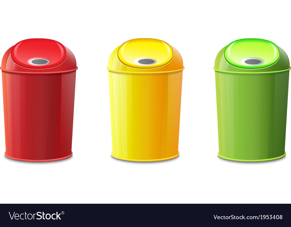 Bin set vector | Price: 1 Credit (USD $1)