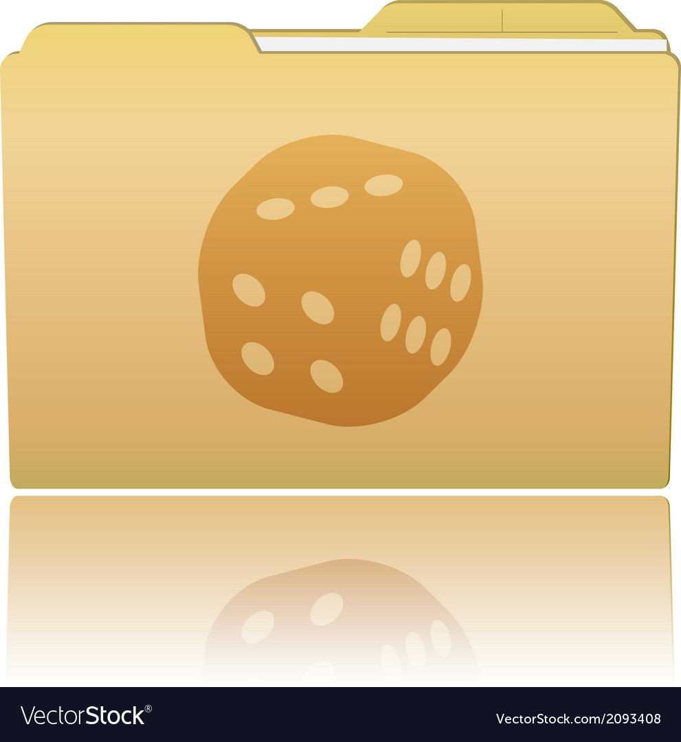 Folder with dice vector | Price: 1 Credit (USD $1)