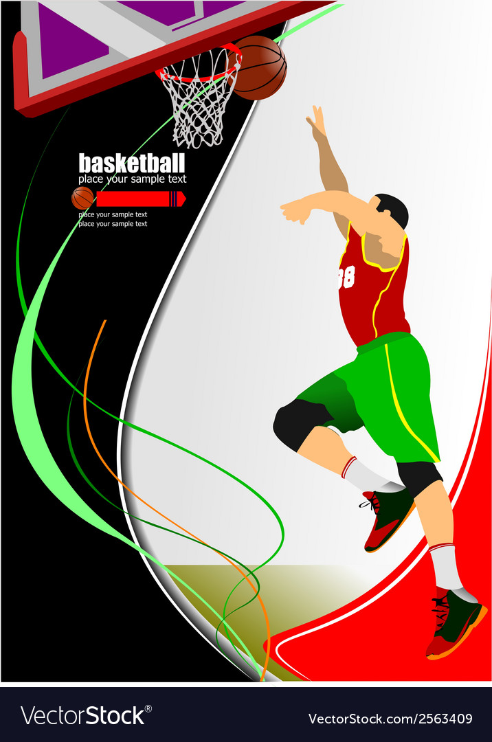 Al 1110 basketball 05 vector | Price: 1 Credit (USD $1)