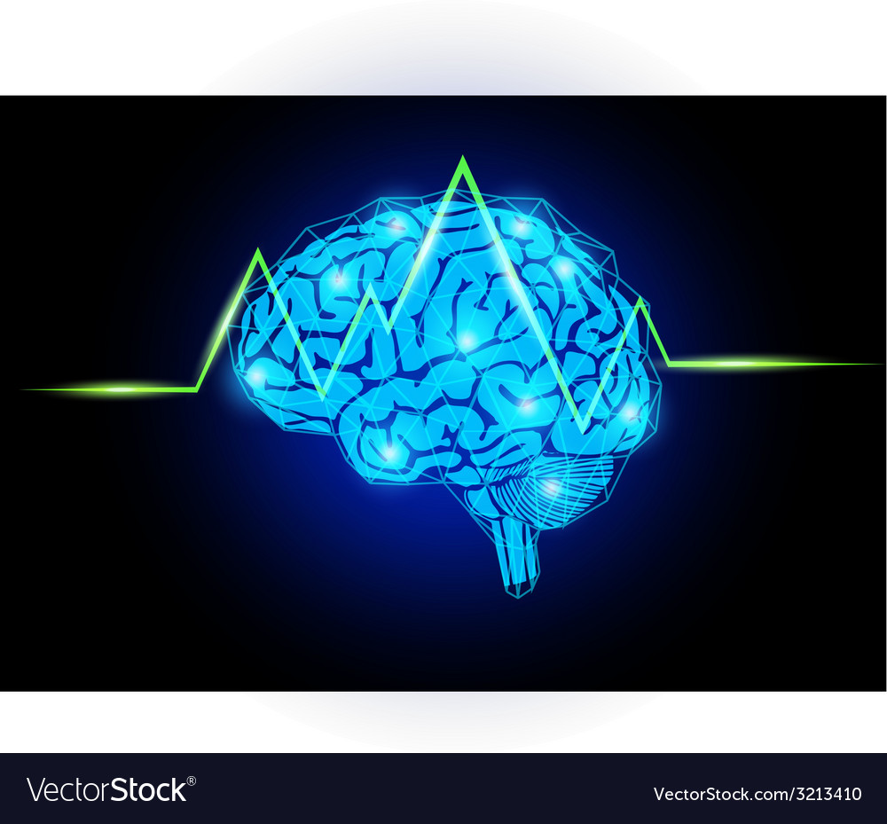 Brain with wave vector