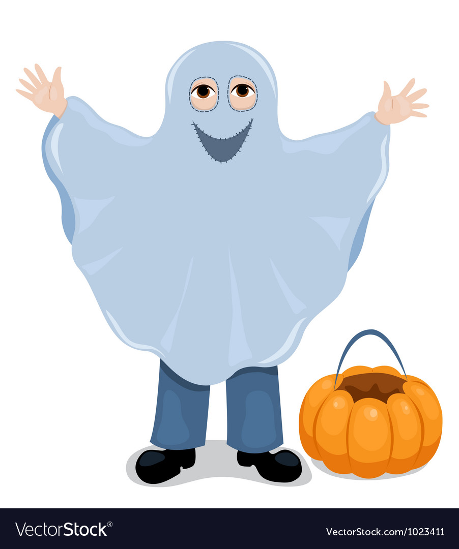 Ghost child vector | Price: 1 Credit (USD $1)