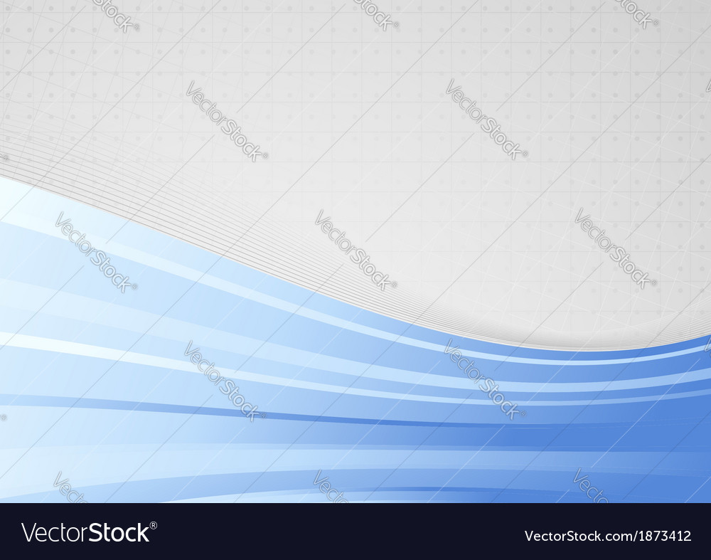 Abstract background with blue waves - folder vector | Price: 1 Credit (USD $1)