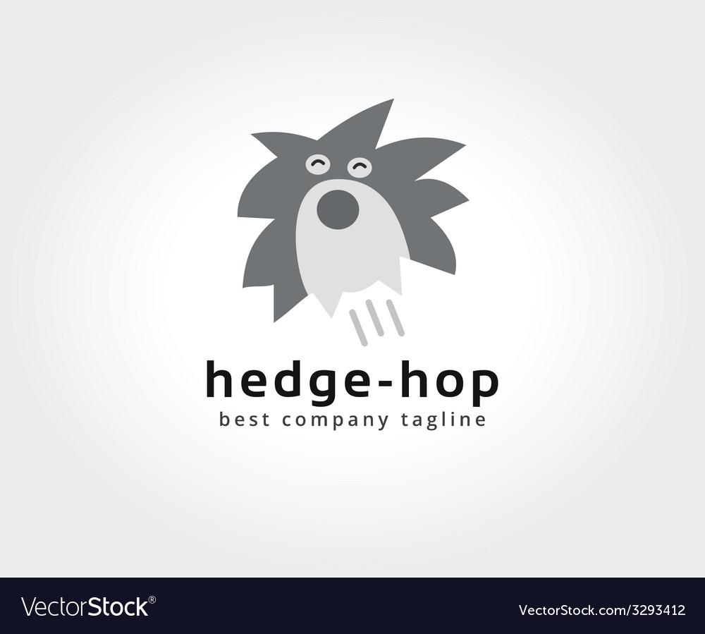 Abstract hedgehog logo icon concept logotype vector | Price: 1 Credit (USD $1)