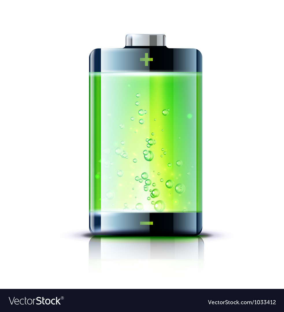 Full battery vector | Price: 3 Credit (USD $3)