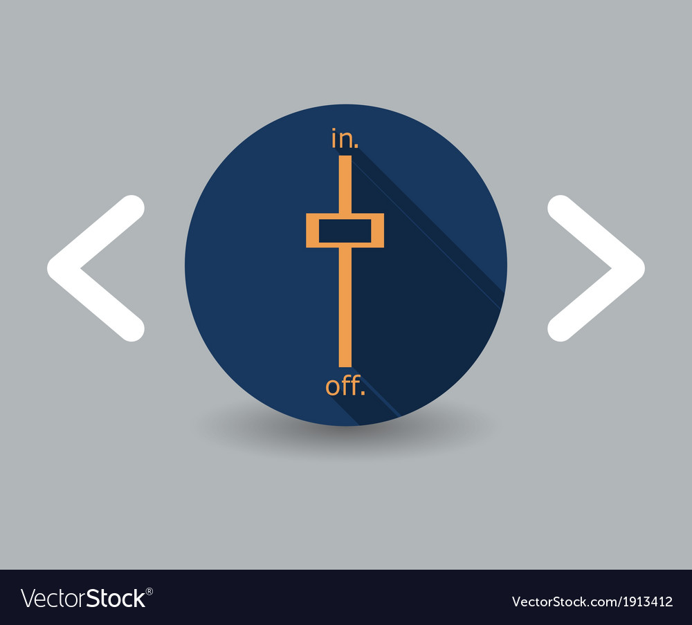 Switch on icon vector | Price: 1 Credit (USD $1)