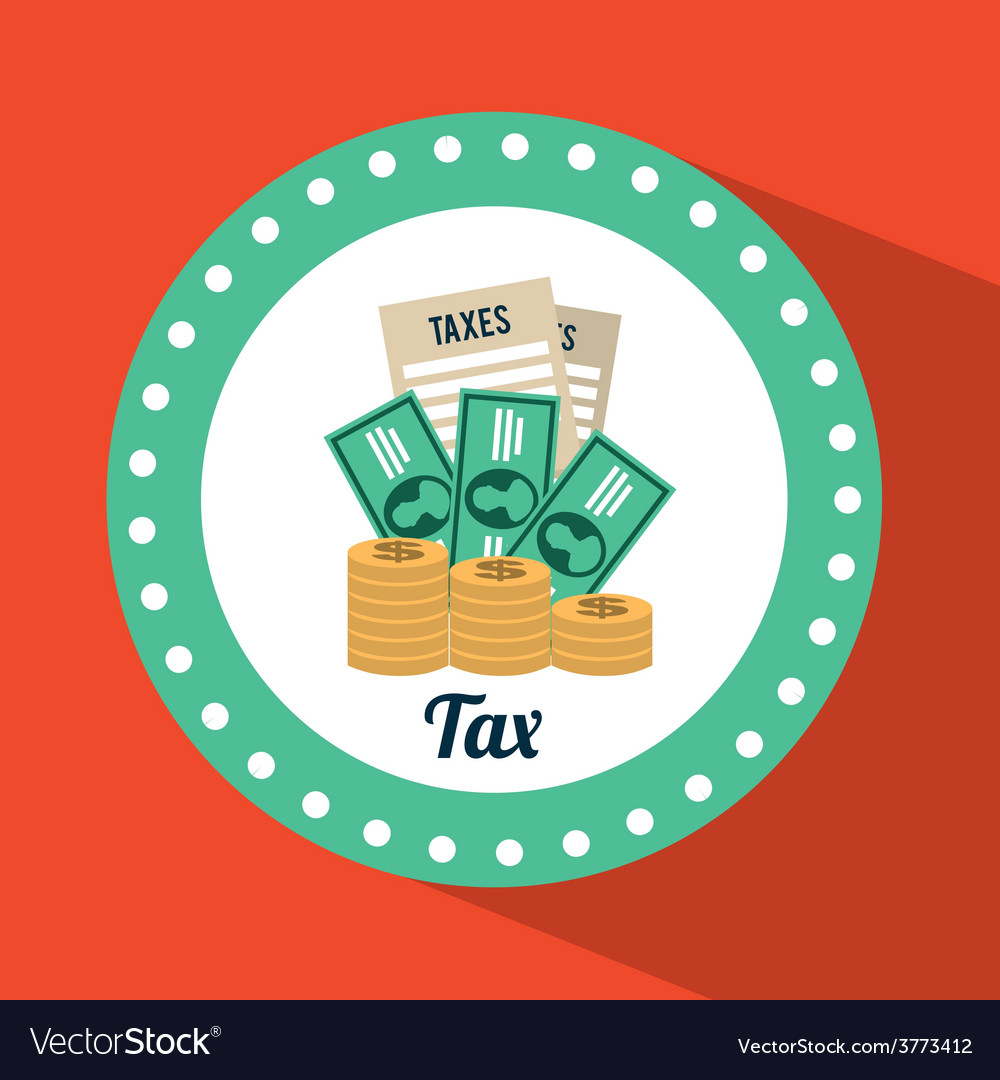 Tax icon vector | Price: 1 Credit (USD $1)