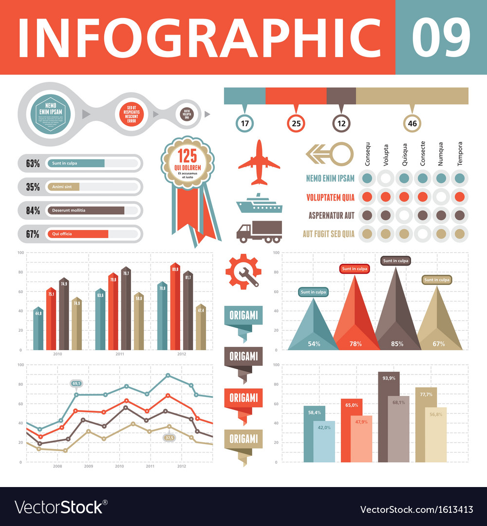 Infographic elements 09 vector | Price: 1 Credit (USD $1)