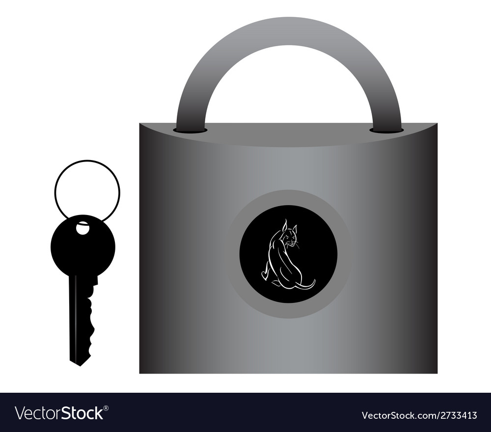 Lock for doors vector | Price: 1 Credit (USD $1)