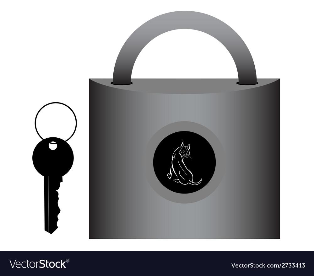 Lock for doors vector | Price: 1 Credit (USD $1)