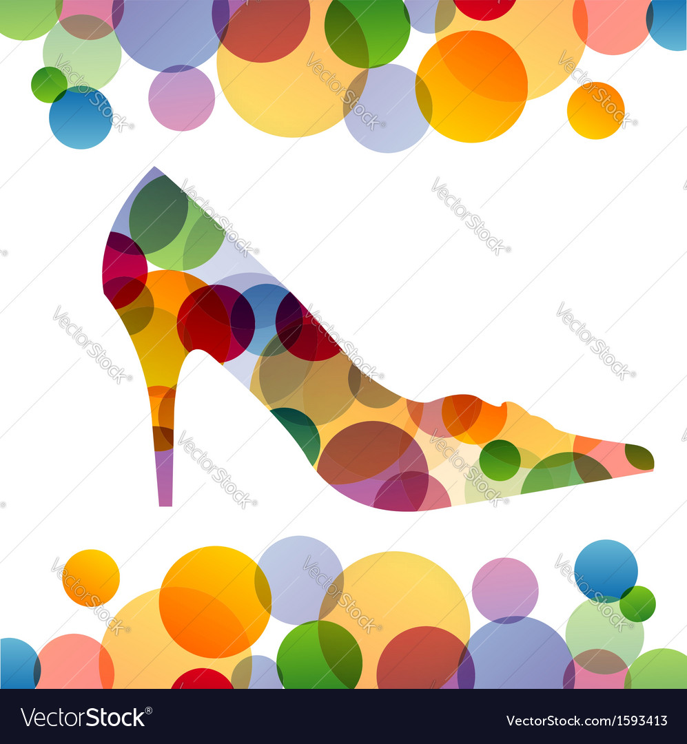 Shoe background vector | Price: 1 Credit (USD $1)