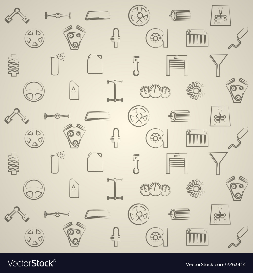 Background for auto repair vector | Price: 1 Credit (USD $1)