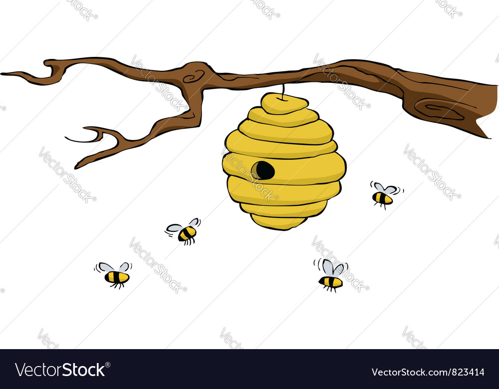 Beehive vector | Price: 3 Credit (USD $3)