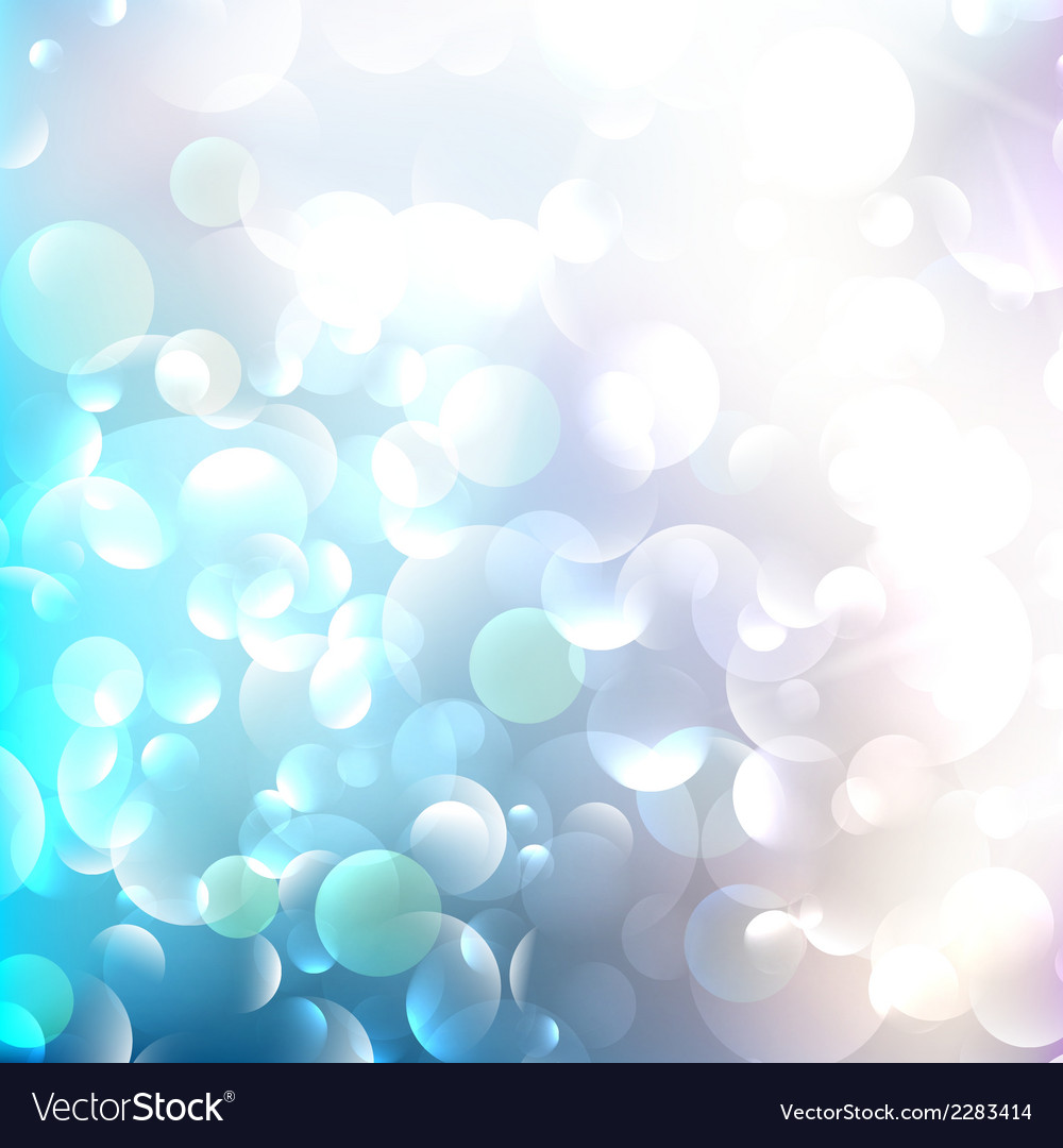 Glittering llight on bokeh background vector | Price: 1 Credit (USD $1)