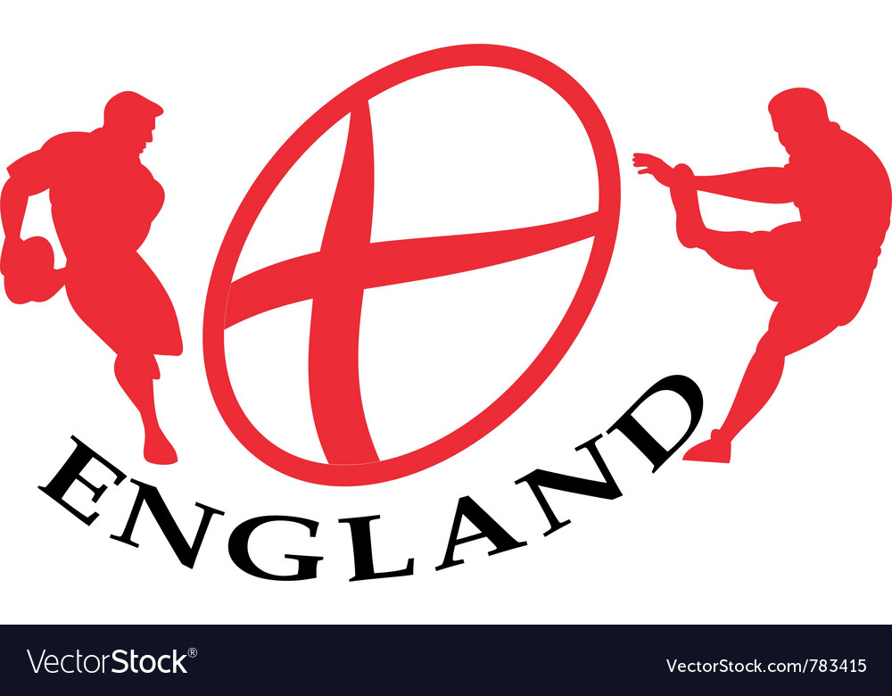 England rugby poster vector | Price: 1 Credit (USD $1)