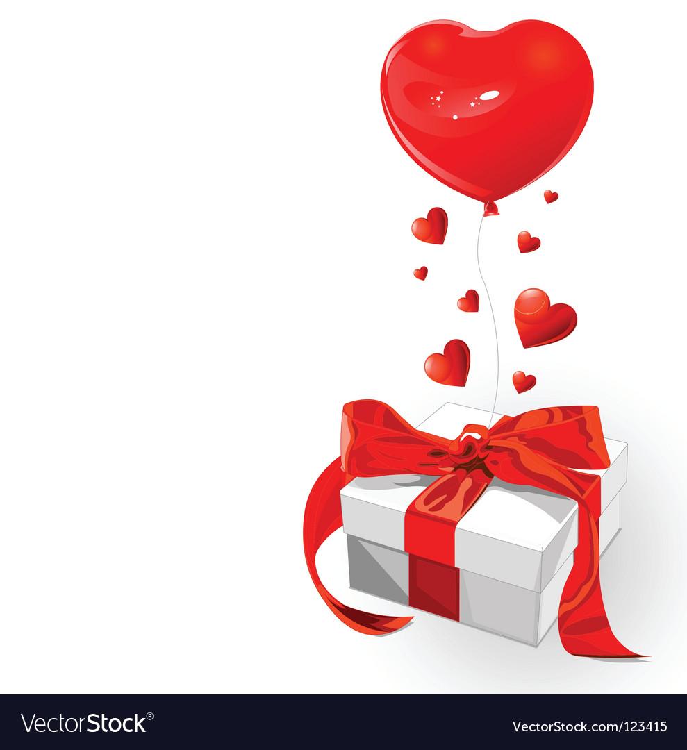 Valentine gift vector | Price: 1 Credit (USD $1)