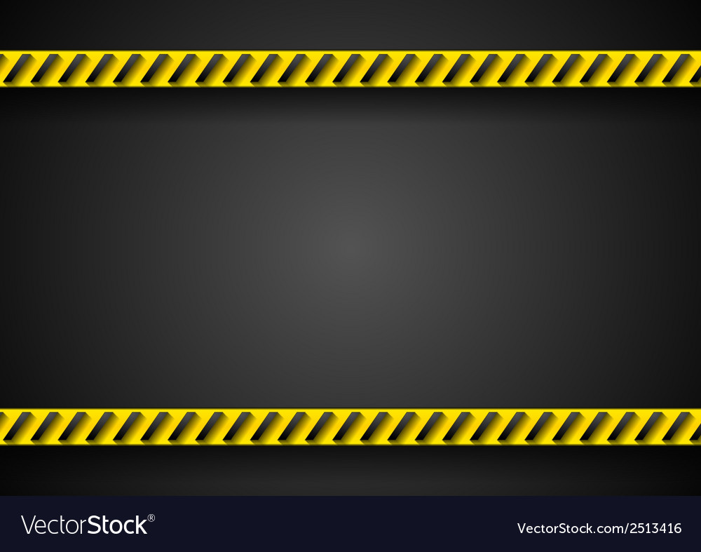 Danger tape abstract background vector | Price: 1 Credit (USD $1)