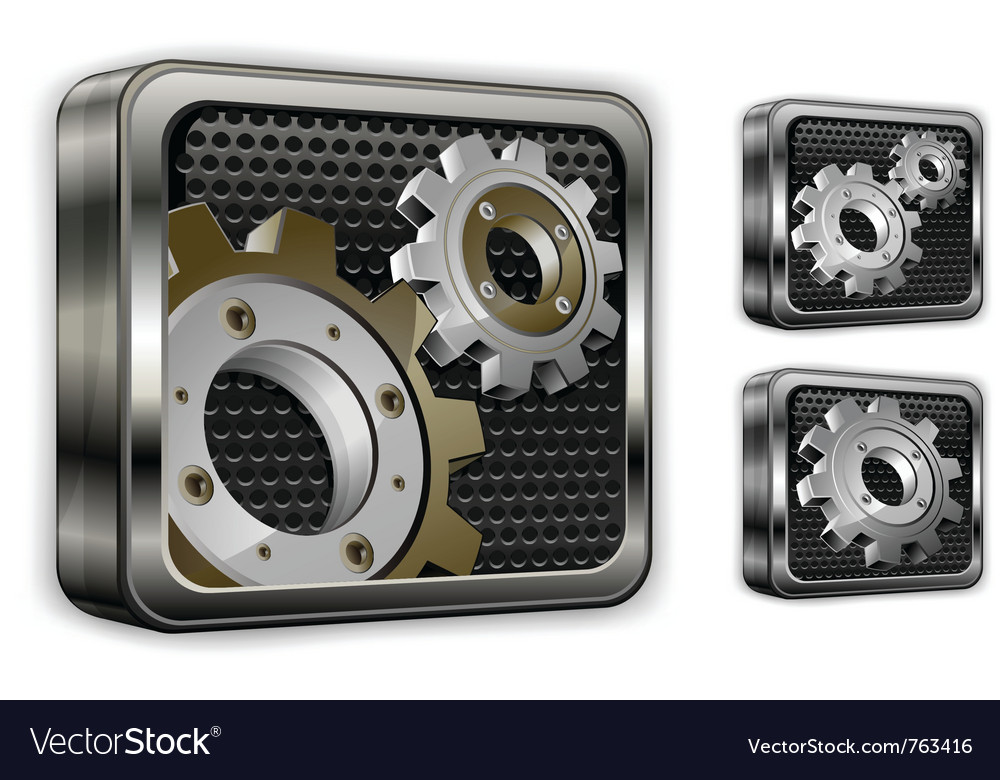 Industrial gears vector | Price: 1 Credit (USD $1)