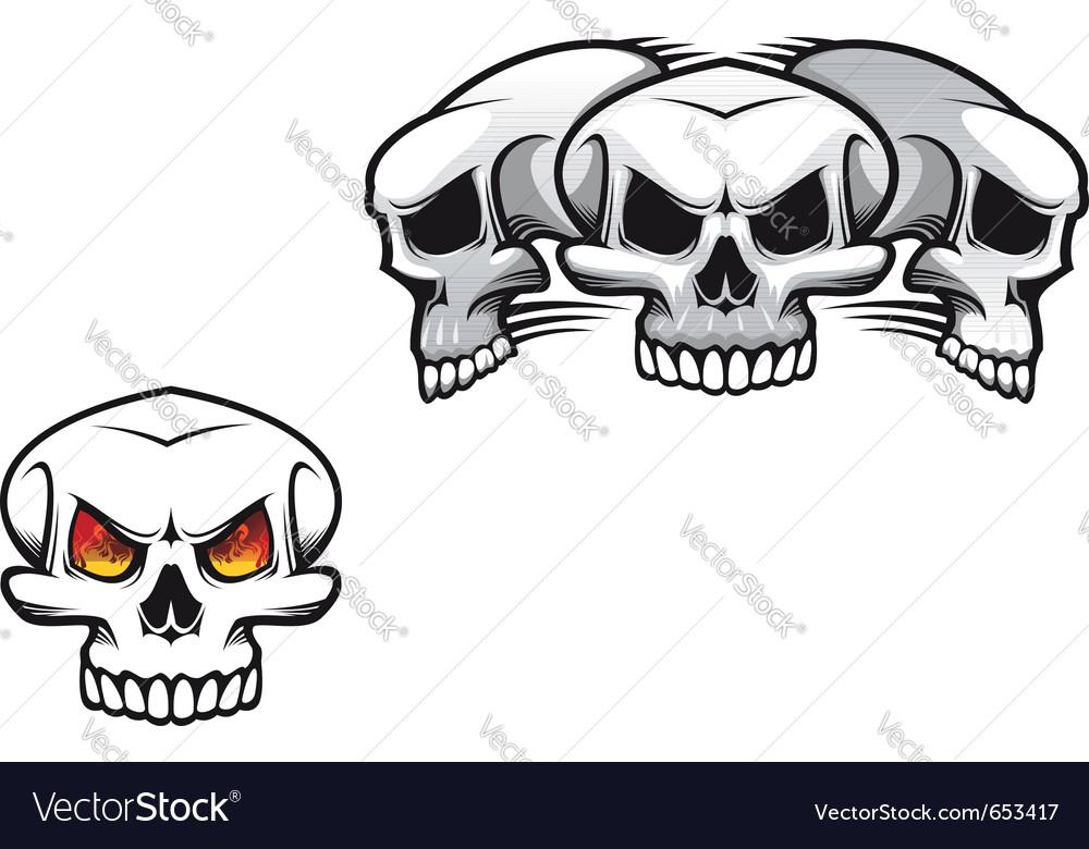 Danger skulls vector   Price: 1 Credit (USD $1)
