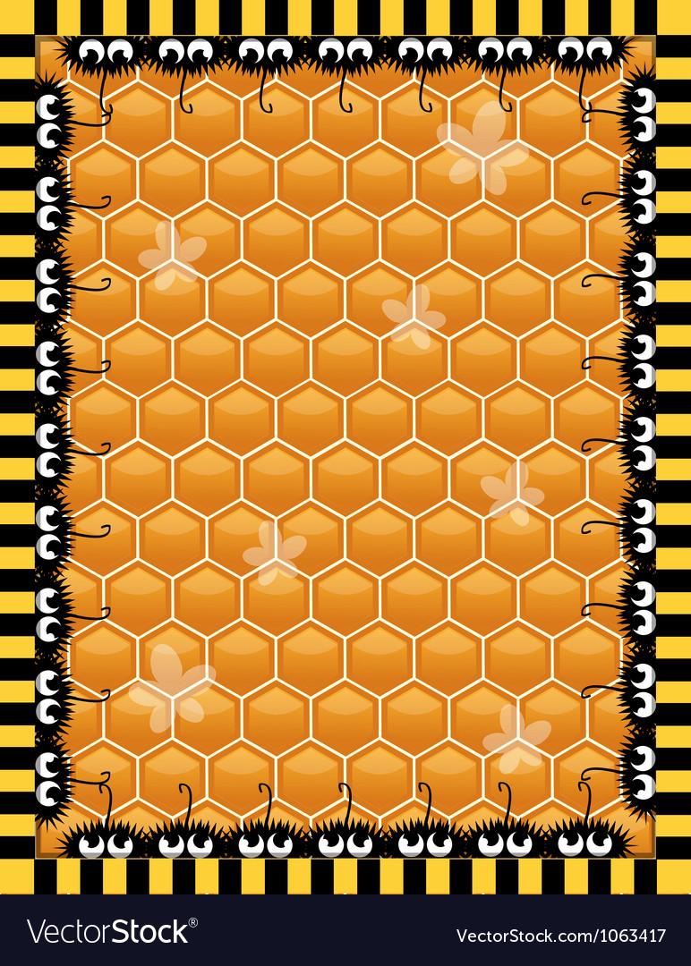 Honey background vector | Price: 1 Credit (USD $1)