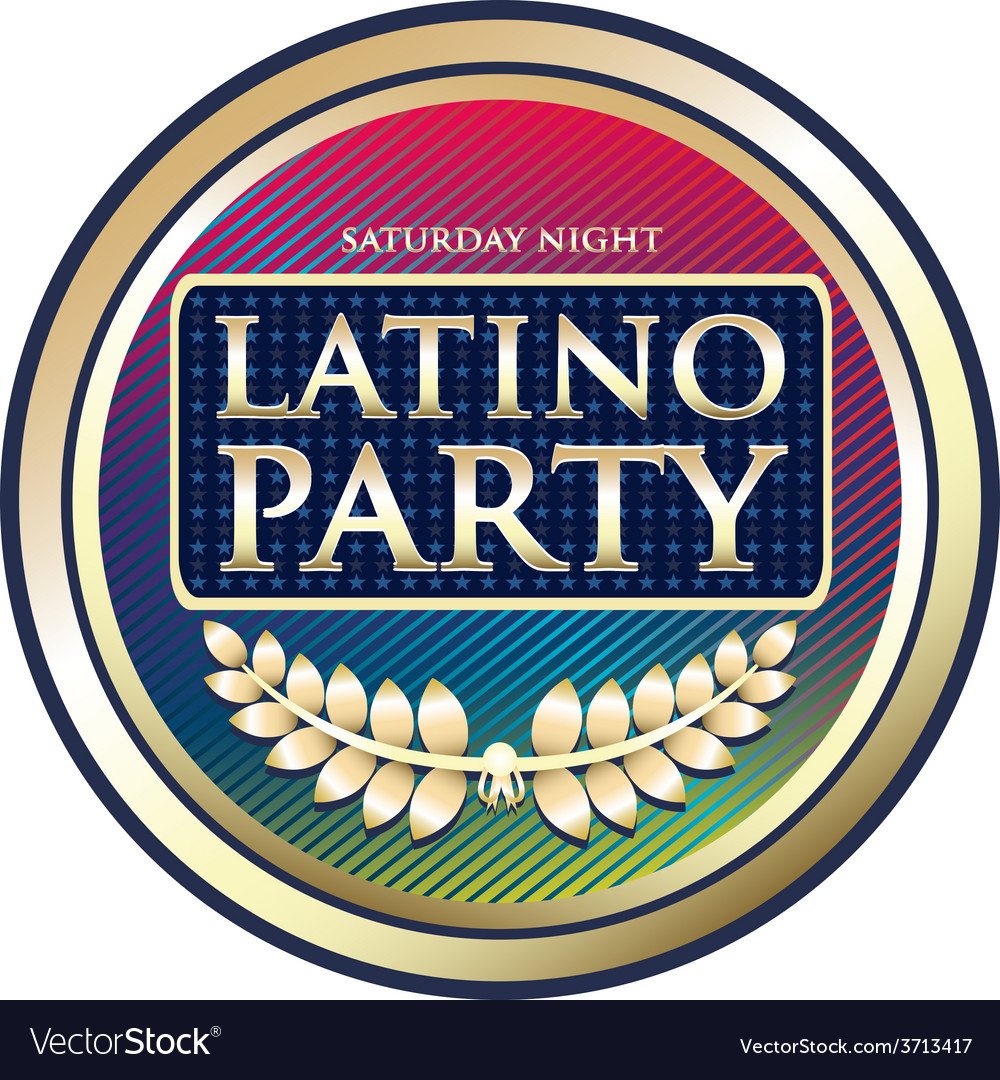 Latino party vector | Price: 1 Credit (USD $1)